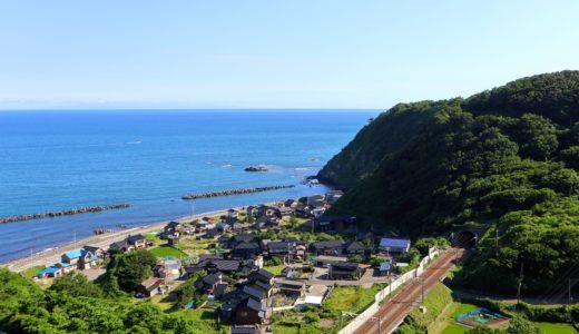 【上越】Day2 新潟県をひたすら海沿いに北上する【自転車】
