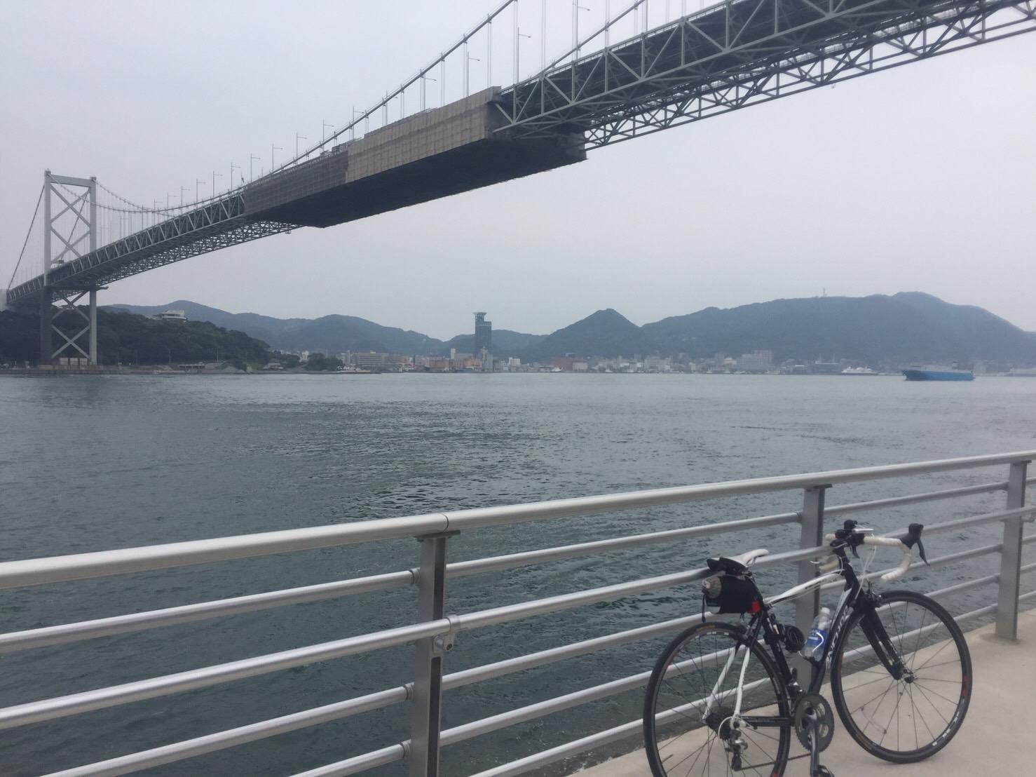 【名古屋~長崎】Day8 下関海峡はトンネルで渡ります【徳山~北九州】【自転車】