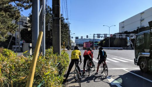 自転車で東京の走り場、大井埠頭を走りました。